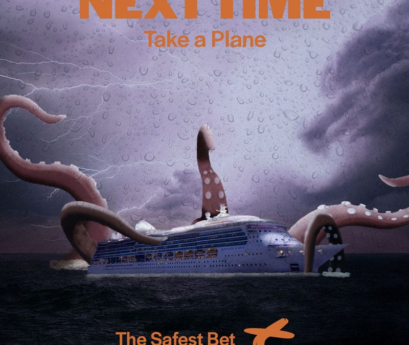 Trent Airlines Fake Ad Poster