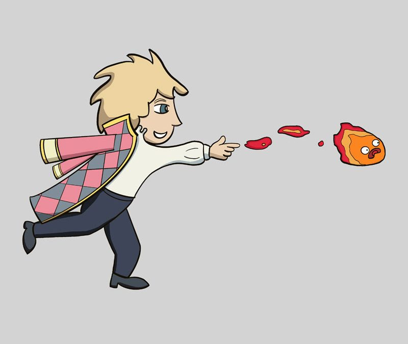 Fire Wizard Digital Art